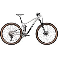 Cube Stereo 120 Race 29 Suspension Bike 2021 - Lightgrey - Black