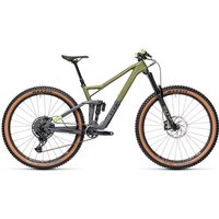 Cube Stereo 150 C:62 Race 29 Suspension Bike 2021 - Olive - Grey