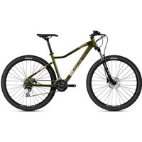 Ghost Lanao Essential 27.5 Hardtail Bike 2021 - Olive - Grey - XS