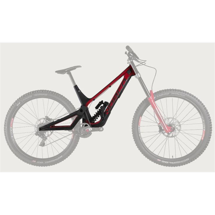 Norco Aurum HSP 650b 2019 Mountain Bike Frame - Red