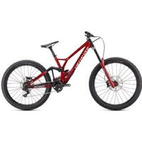 Specialized Demo Race Dh Bike  2020 S3 - GLOSS BRUSHED / RED TINT / WHITE