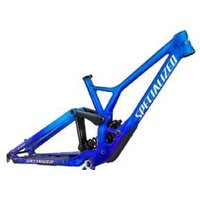 Specialized Demo Race Dh Frameset  2021 S2 - GLOSS COBALT / BLUE TINT FADE / METALLIC WHITE SILVER