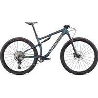 Specialized Epic Comp Mountain Bike  2021 L - SATIN CARBON/OIL CHAMELEON/FLAKE SILVER