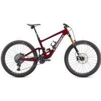 Specialized S-works Enduro Carbon 29er Mountain Bike  2021 S5 - Gloss Red Tint/Spectraflair/Metallic White Silver