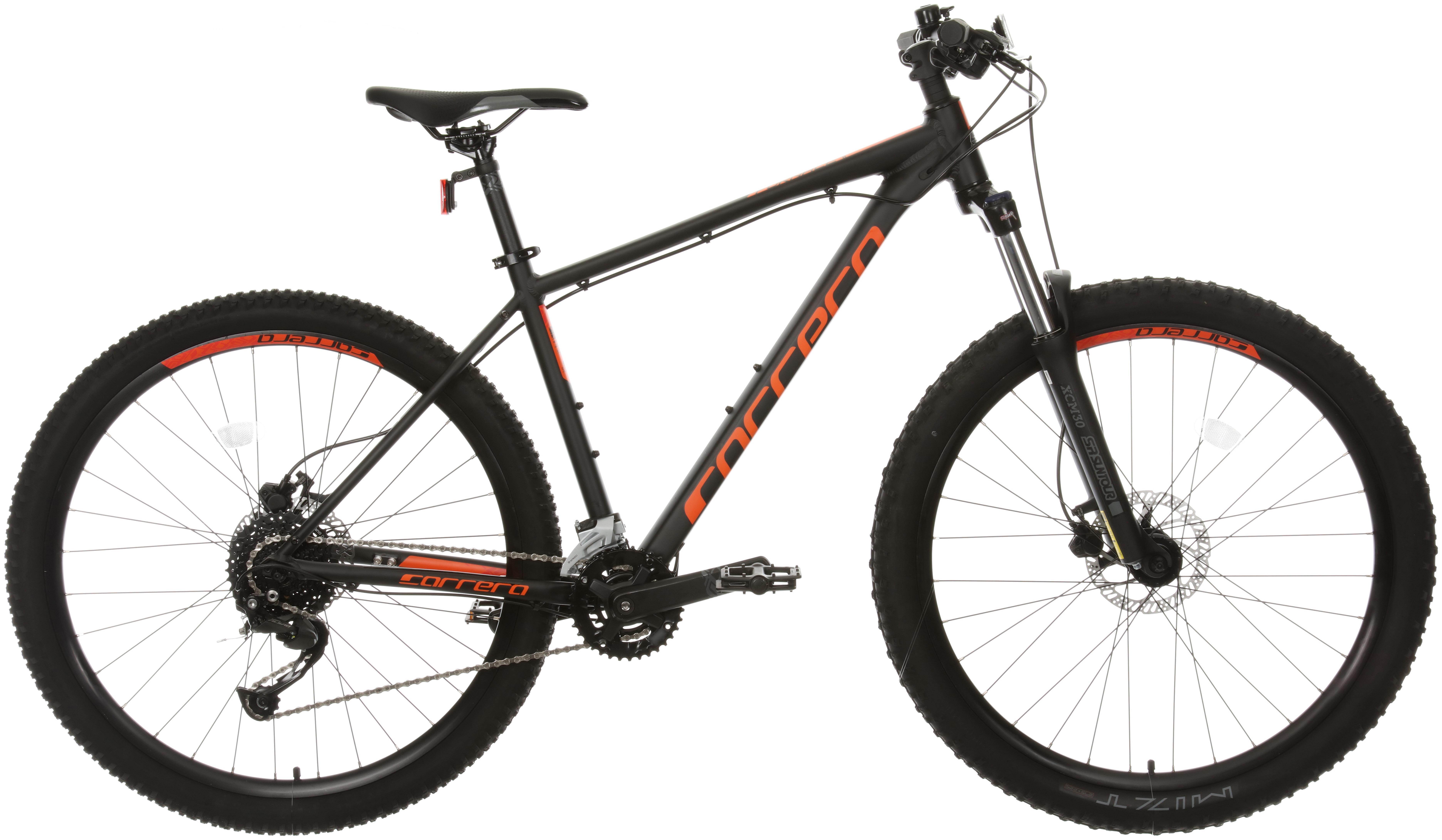Carrera Furnace 2 Mountain Bike - Black/Orange