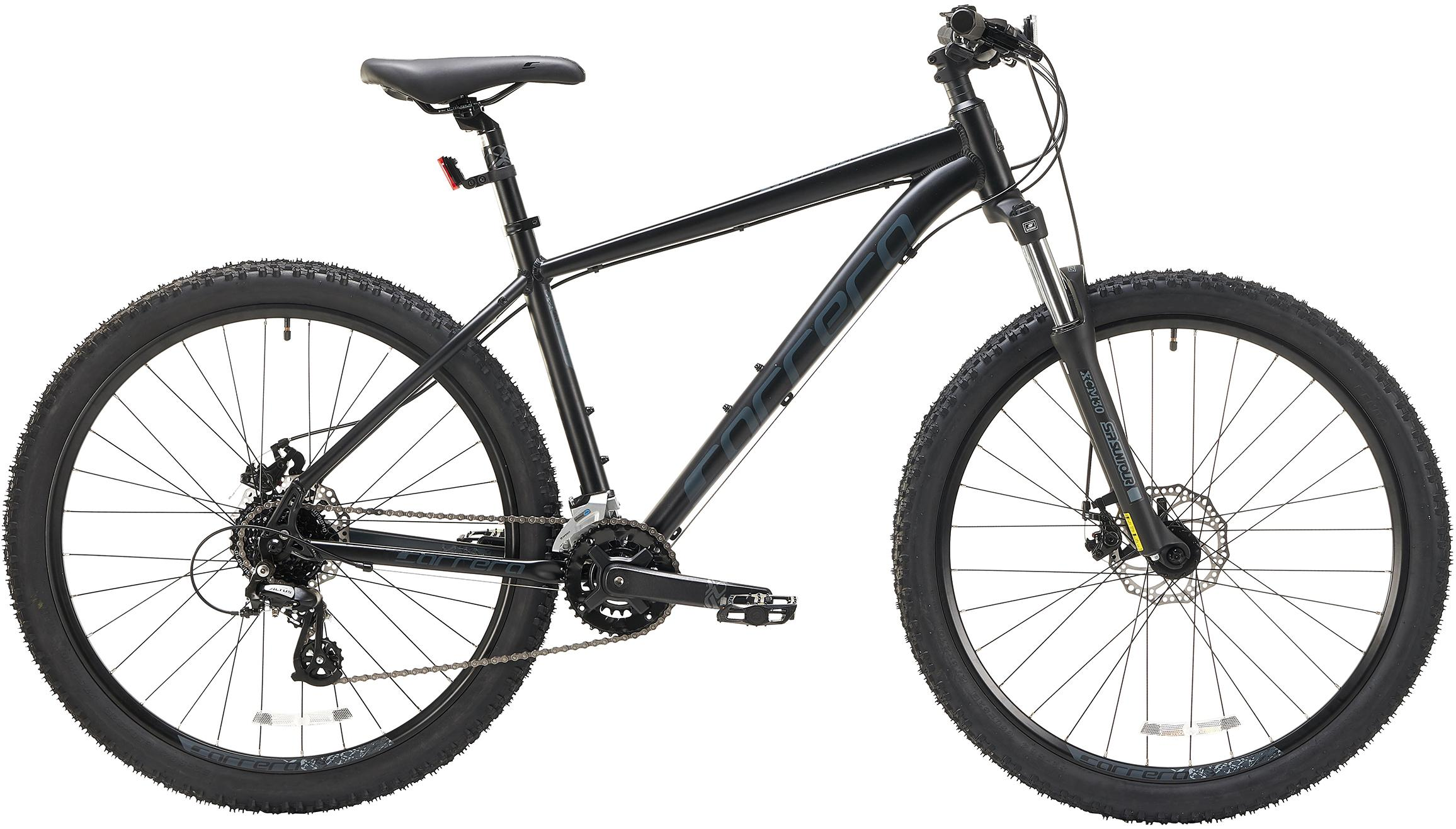 Carrera Vengeance Mens Mountain Bike (Without Puncture Protect) - Black