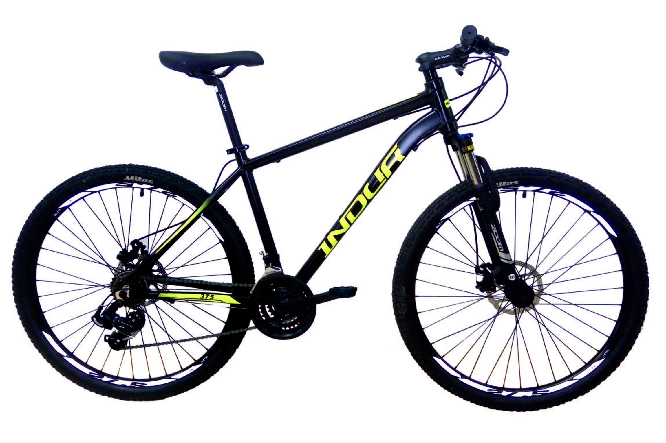 Indur Negra Mens Mountain Bike - 27.5 Inch Large