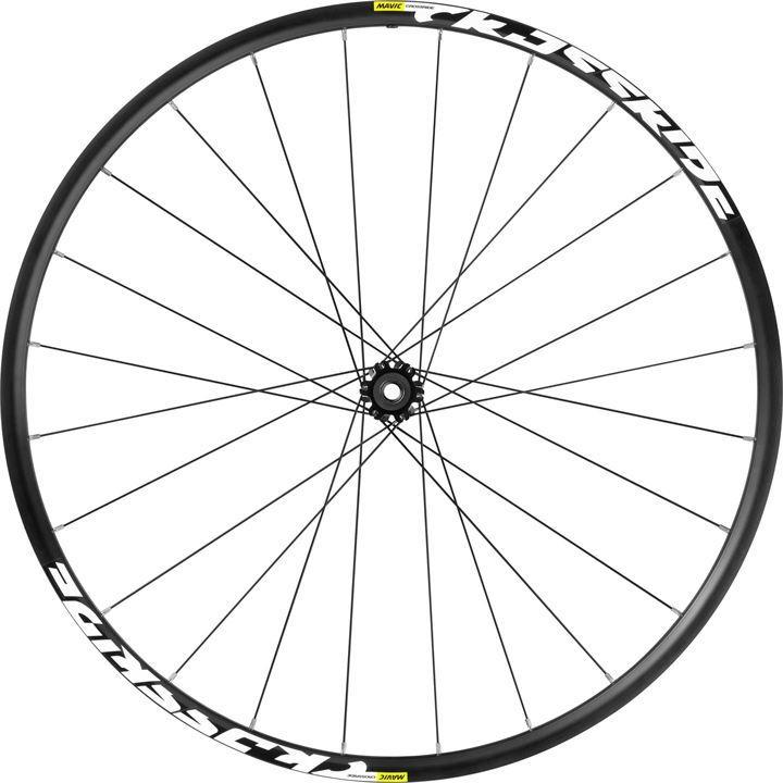 Mavic Crossride FTS-X 6 Bolt 26' Mountain Bike Front Wheel - Black
