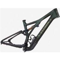 Specialized Stumpjumper S-Works Mountain Bike Frameset 2021 S6 - Oak Green/Carbon