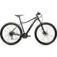 "Cube Access WS EAZ 27.5 Hardtail Bike 2021 - Lilic - Black - 33cm (13"")"
