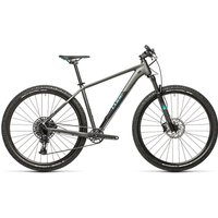 """Cube Acid 29 Hardtail Bike 2021 - Grey - Aqua - 43.5cm (17"""")"""
