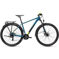 "Cube Aim 27.5 Allroad Hardtail Bike 2021 - Pinetree - Yellow - 36cm (14"")"