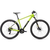 "Cube Aim Pro 27.5 Hardtail Bike 2021 - Green - Black - 36cm (14"")"