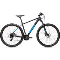 "Cube Aim Pro 29 Hardtail Bike 2021 - Black - Blue - 53cm (21"")"