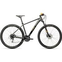 """Cube Aim Race 27.5 Hardtail Bike 2021 - Grey - Orange - 36cm (14"""")"""