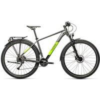 "Cube Aim SL 29 Allroad Hardtail Bike 2021 - Grey - Green - 48cm (19"")"