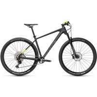 """Cube Reaction C:62 Pro Hardtail Bike 2021 - Carbon - Yellow - 43.5cm (17"""")"""