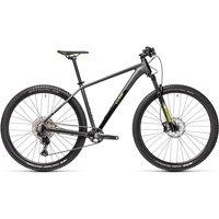 "Cube Reaction Pro Hardtail Bike 2021 - Grey - Yellow - 43.5cm (17"")"