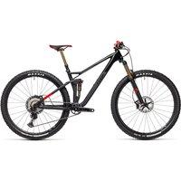 Cube Stereo 120 HPC SLT 29 Suspension Bike 2021 - Carbon - Red - M