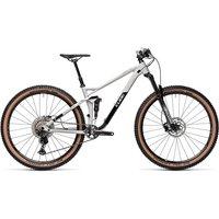 Cube Stereo 120 Race 29 Suspension Bike 2021 - Lightgrey - Black - M