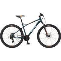 GT Aggressor Expert 29 Hardtail Bike 2021 - Blue - M