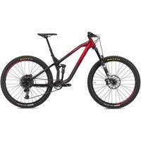 NS Bikes Define AL 130 Suspension Bike 2020 - Black - Red
